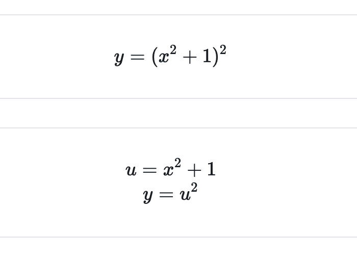 chain rule example part 1